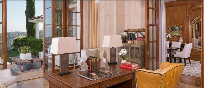 Study, Heidi Klum's Home