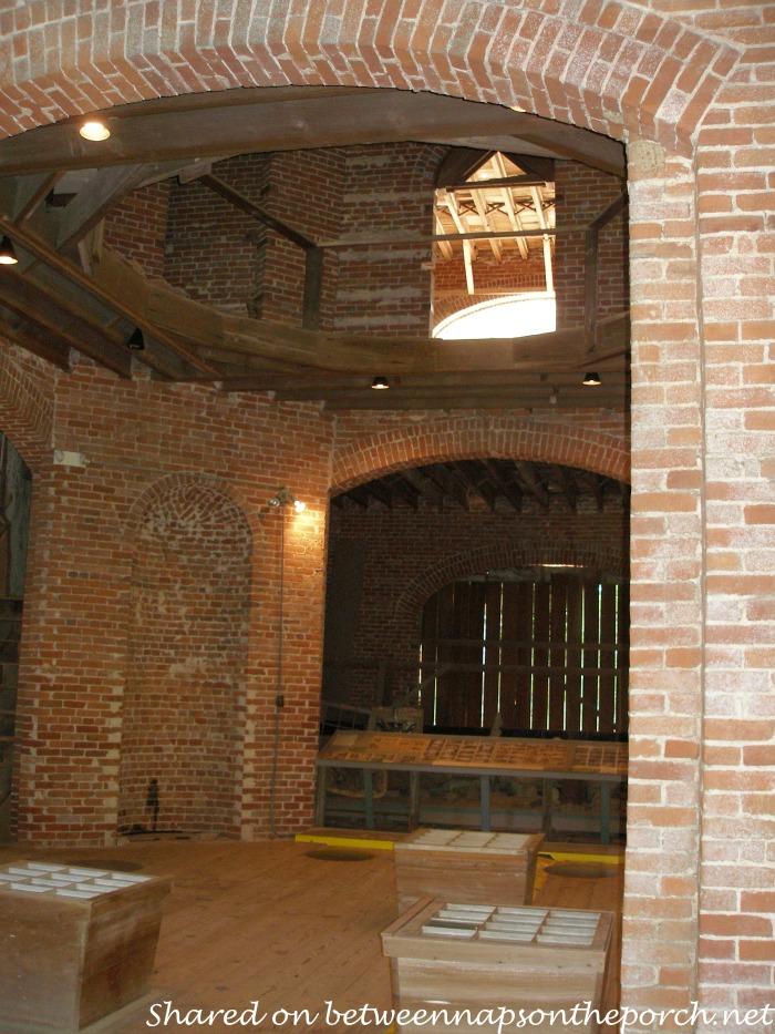 Unfinished Interior of Longwood. Natchez