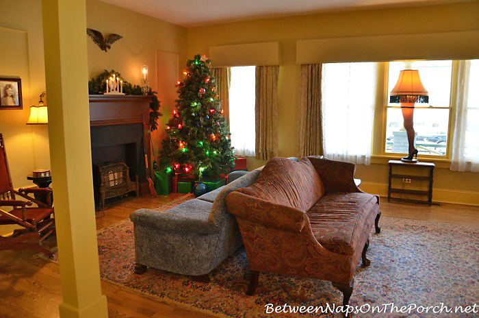 A Christmas Story Moive Living Room in Cleveland, Ohio