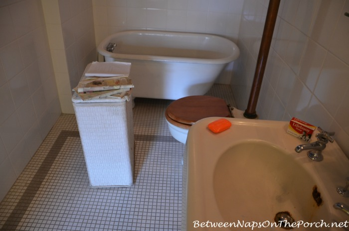A Christmas Story Movie House Bathroom with Lifebouy Soap