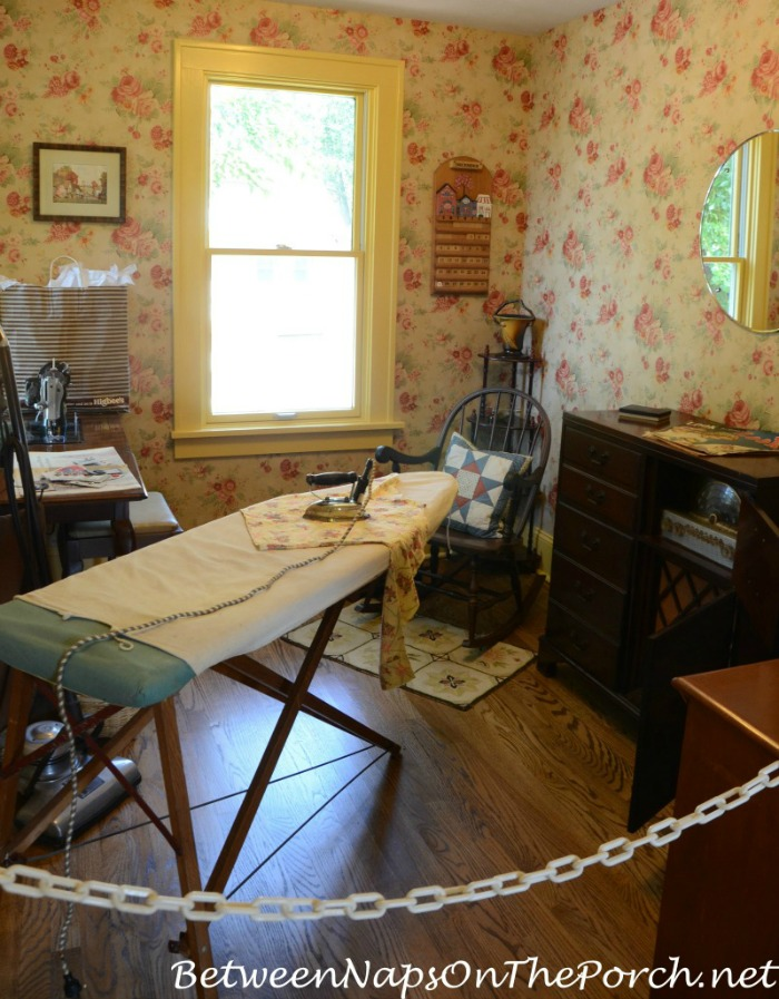 A Christmas Story Movie House Sewing & Ironing Room