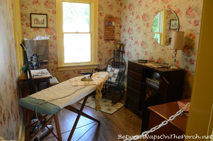A Christmas Story Movie House Sewing Room