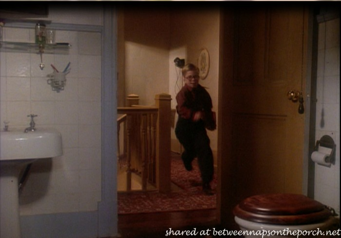 A Christmas Story Movie House Tour Bathroom