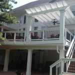 Beautiful Screened Porch, Deck And Pergola Addition