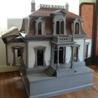 Antique Dollhouse in Frances Parkinson Keyes Studio