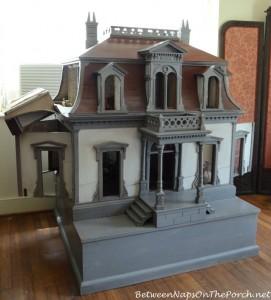 Antique Dollhouse in Frances Parkinson Keyes Studio