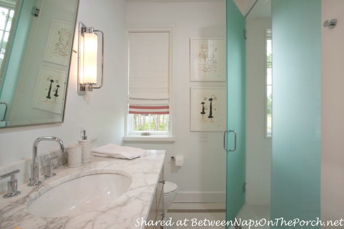 Bathroom, Southern Living Idea House-2014-Palmetto, SC
