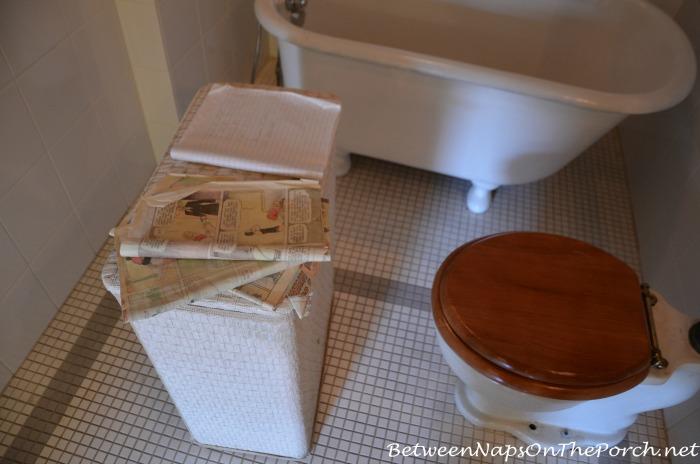Bathroom in A Christmas Story Movie House