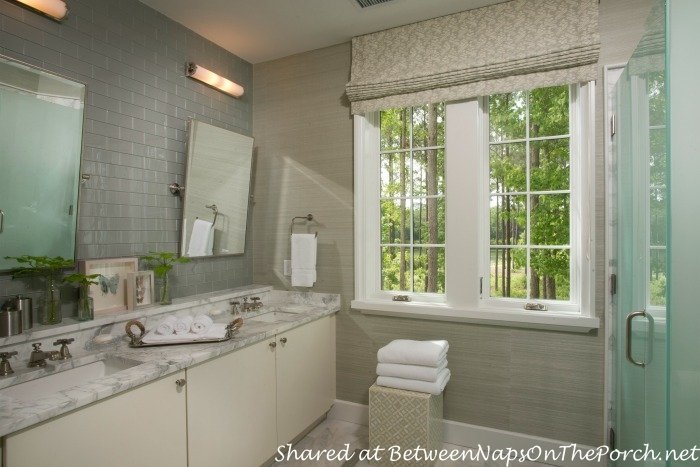 Bathroom in the Southern Living Idea House-Palmetto, SC