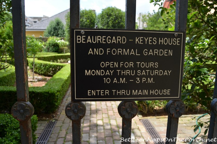 Beauregard-Keyes Formal Garden 5