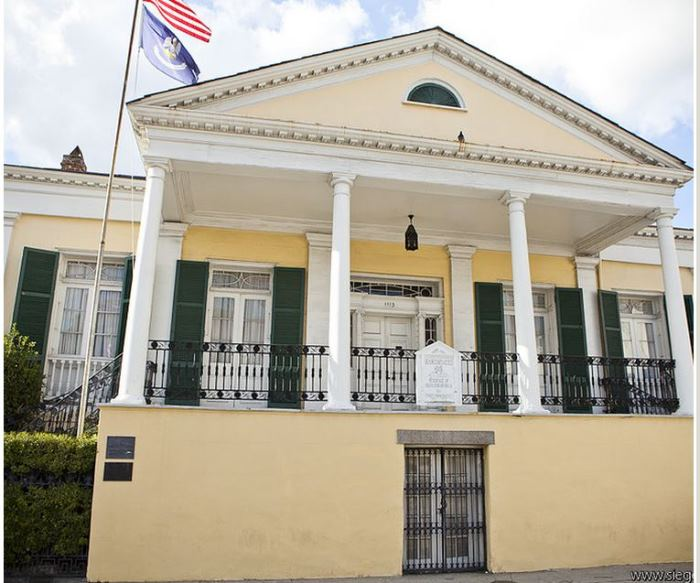 Beauregard Keyes House in New Orleans
