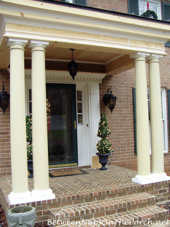front porch columns prices basics for choosing round