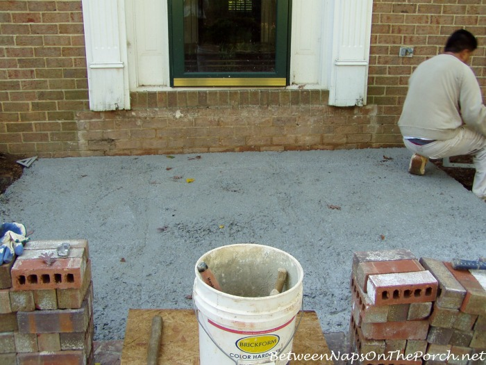 Build a Foundation for Small Front Porch