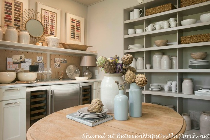 Butler's Pantry or Multipurpose Room in Bluffton Southern Living Idea House, 2014