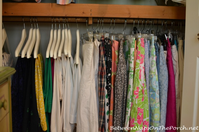 Closet Makeover With New IKEA Bumerang Hangers