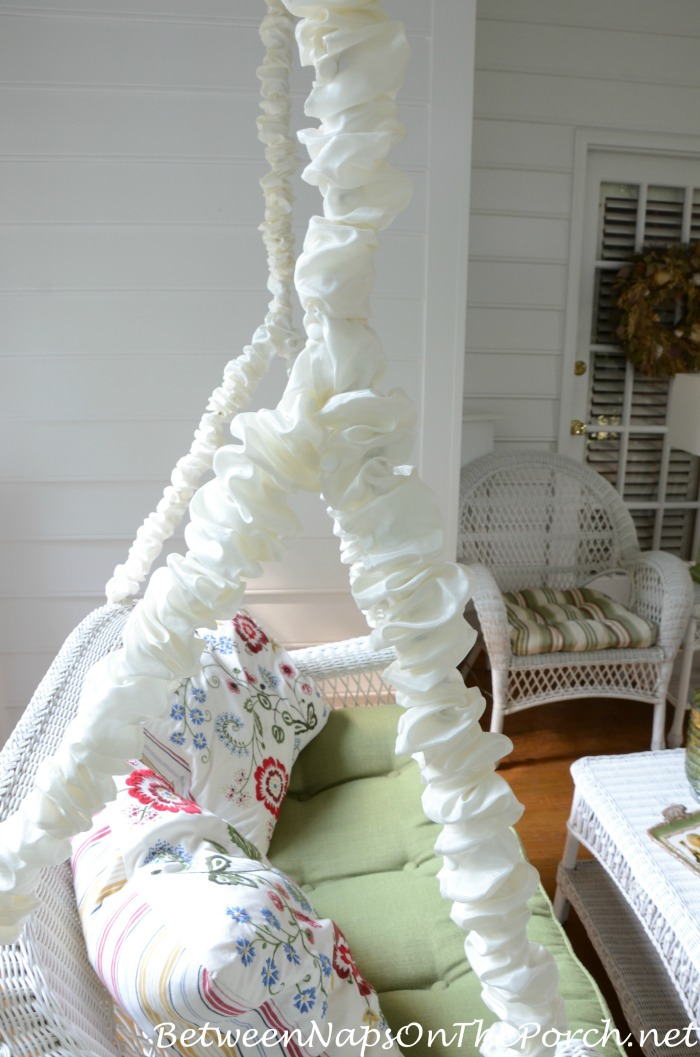Coverd Swing Chains Electrical Cord Covers Hide