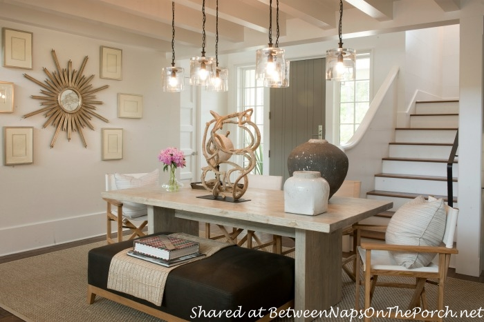 Tour the beautiful 2014 southern living idea house in for Southern living dining room ideas