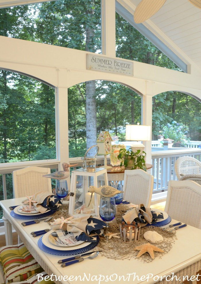 Dinner on the Summer Porch