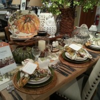 Fall Autumn Table Setting