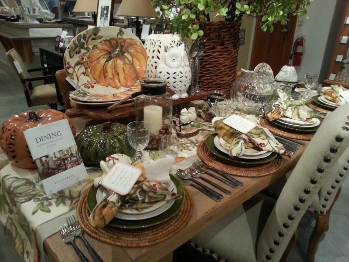 Fall Autumn Table Setting