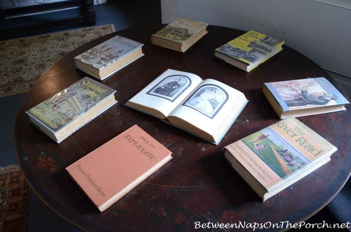 Frances Parkinson Keyes Books In Her Cottage Studio