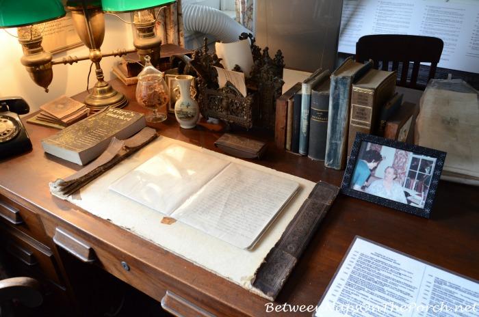 Frances Parkinson Keyes Desk Where She Wrote