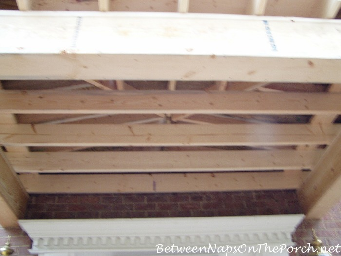 How To Build a Porch Ceiling Roof