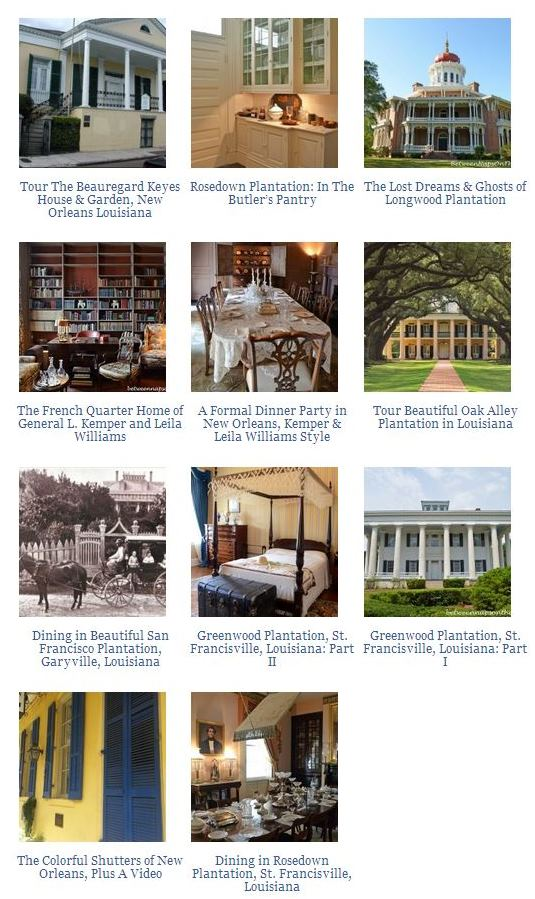 Louisiana Historic Homes
