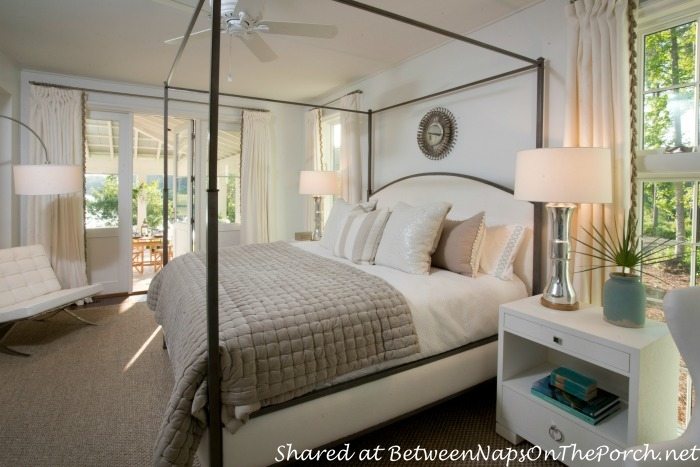 Master Bedroom in Southern Living Idea House-Palmetto, SC