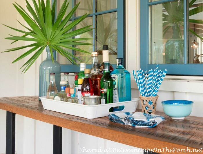 Outdoor Bar at Southern Living Idea House