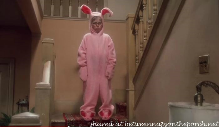 Ralpie in Bunny Suit From A Christmast Story