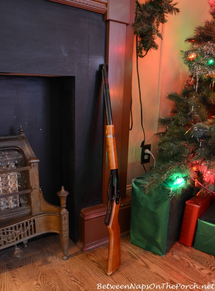 A Christmas Story Movie House Living Room Cleveland Ohio