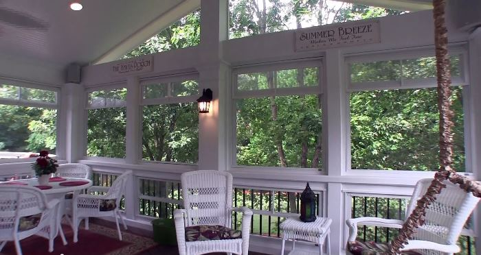 Screened Porch For Summer