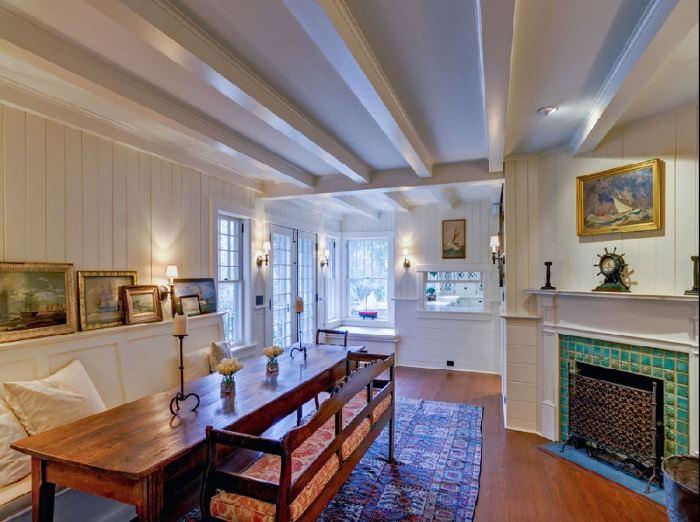 Southampton Cottage Restoration Designed by Grosvenor Atterbury 11
