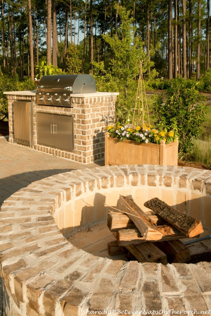 Southern Living Idea House Fire Pit-Palmetto SC