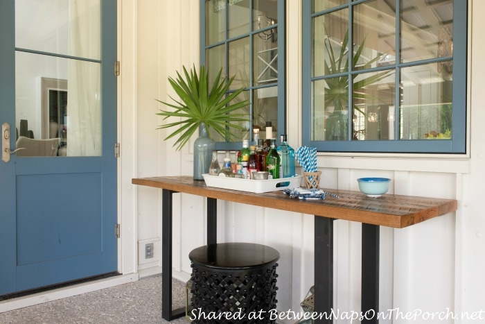 Southern Living Idea House Outdoor Bar-Palmetto South Carolina 2014