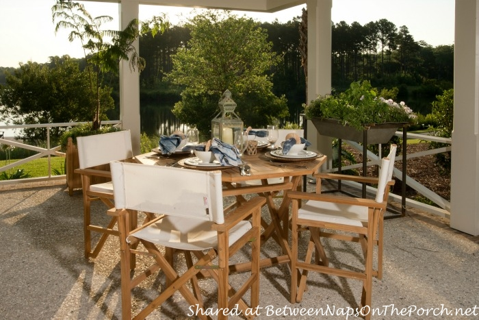 Southern Living Idea House Outdoor Dining-Palmetto South Carolina