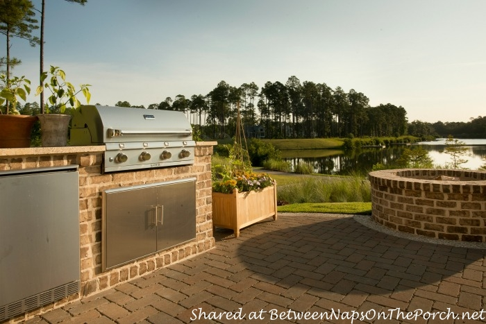 Southern Living Idea House Outdoor Kitchen-Palmetto South Carolina
