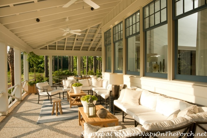 Southern Living Idea House Porch-Palmetto, SC