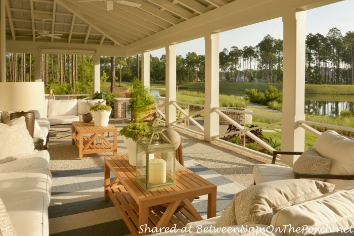 Southern Living Idea House Porch-Palmetto, South Carolina