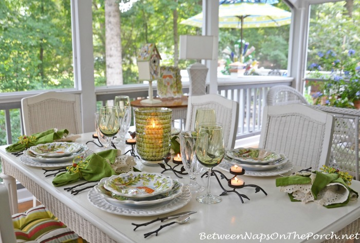 Summer Table Setting With Dario Farrucci Ma Maison Dishware