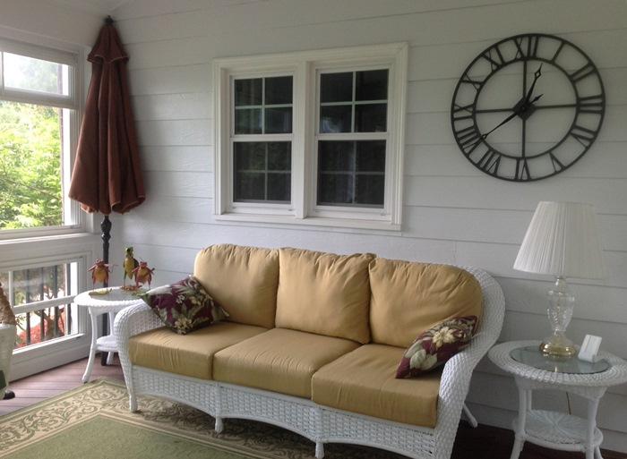 Wicker Sofa For Screened Porch