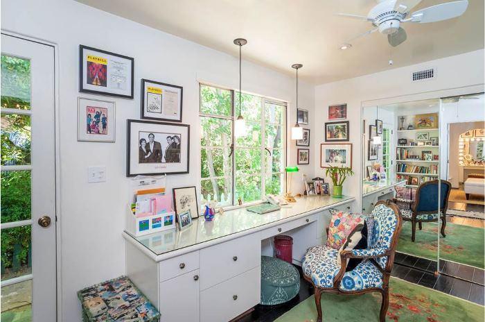 Annie Potts Home Office Tarzana Home