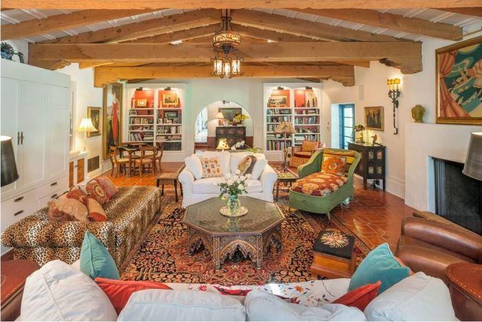 Annie Potts Living Room Tarzana, Los Angeles,