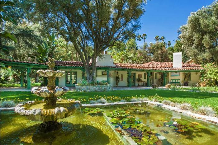 Annie Potts Spanish Hacienda-Style Home In Tarzana, Los Angeles, California