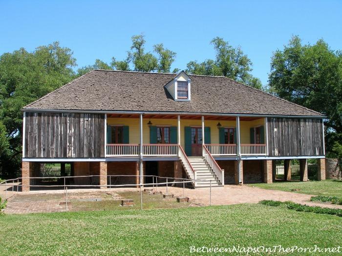 Back View of Laura Plantation, Vacherie Louisiana