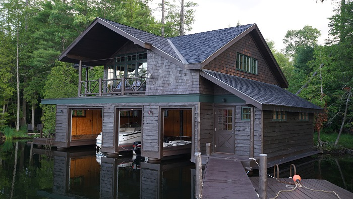 Beautiful Boat House