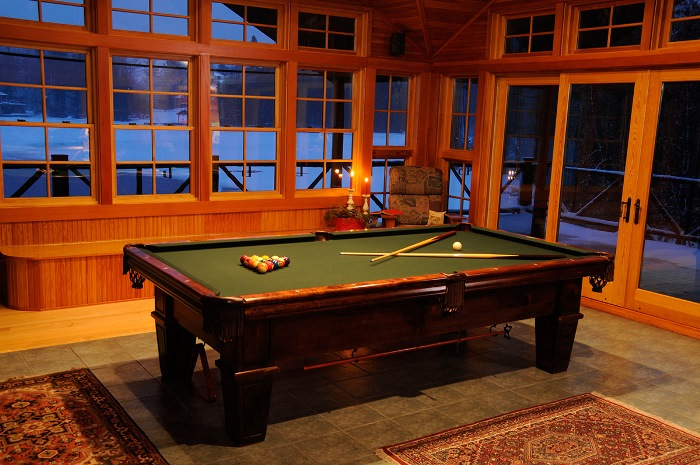 Boat House with Pool Table