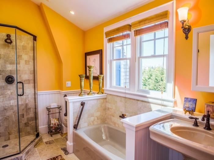 Cottage Bathroom in Waterside Home