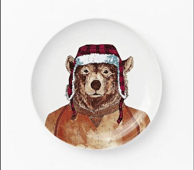 Dapper Bear Plate